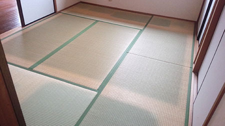 奈良市法華寺町 畳表替え工事ビフォー