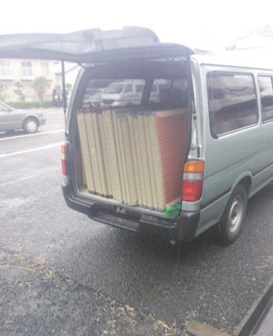 雨の日は畳の工事をしない方が良い