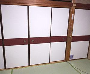 奈良市学園朝日元町 新畳・襖貼り替え工事