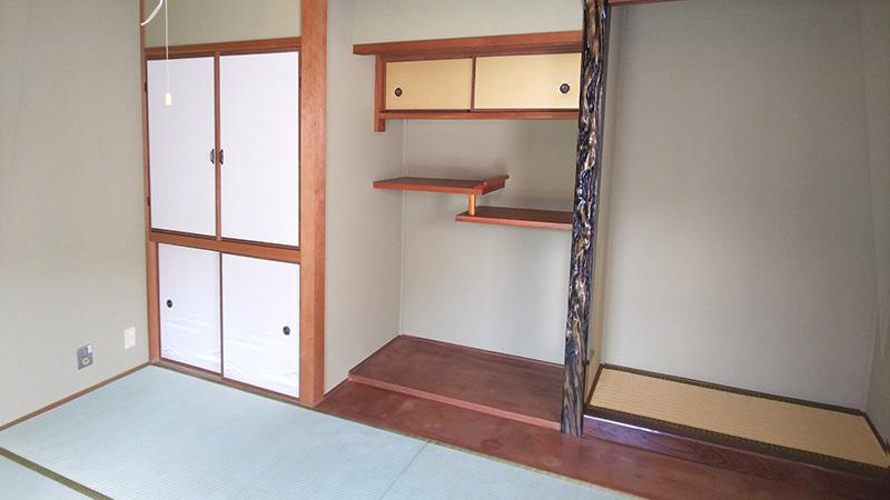 生駒市ふすまの張り替え畳屋の工事 中西たたみ店