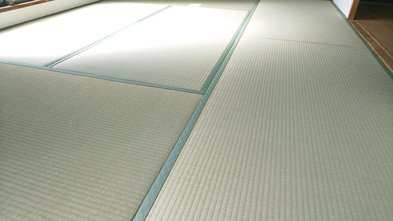 奈良市三条畳屋の工事写真 中西たたみ店