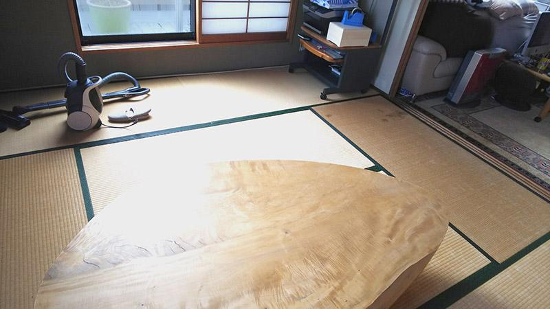 奈良たたみ工事前中西畳店