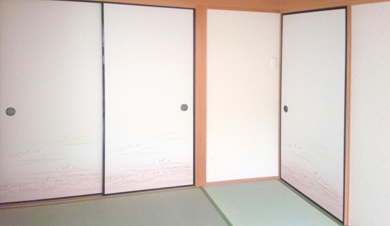 生駒市ふすま張替え工事 中西たたみ店