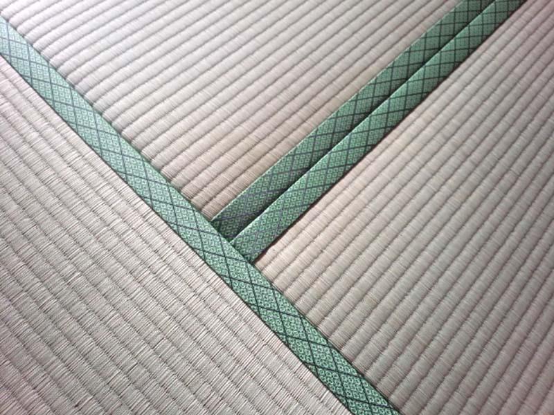 奈良市百楽園畳表替え工事 中西たたみ店