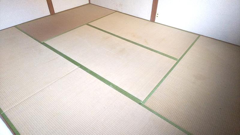 畳替え前 奈良の中西たたみ店の工事日記