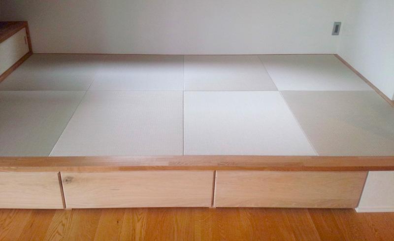生駒郡三郷町東信貴ヶ丘 縁なし半畳カラー畳 中西たたみ店