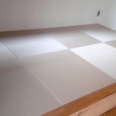 生駒郡三郷町縁なし半畳カラー畳 中西たたみ店