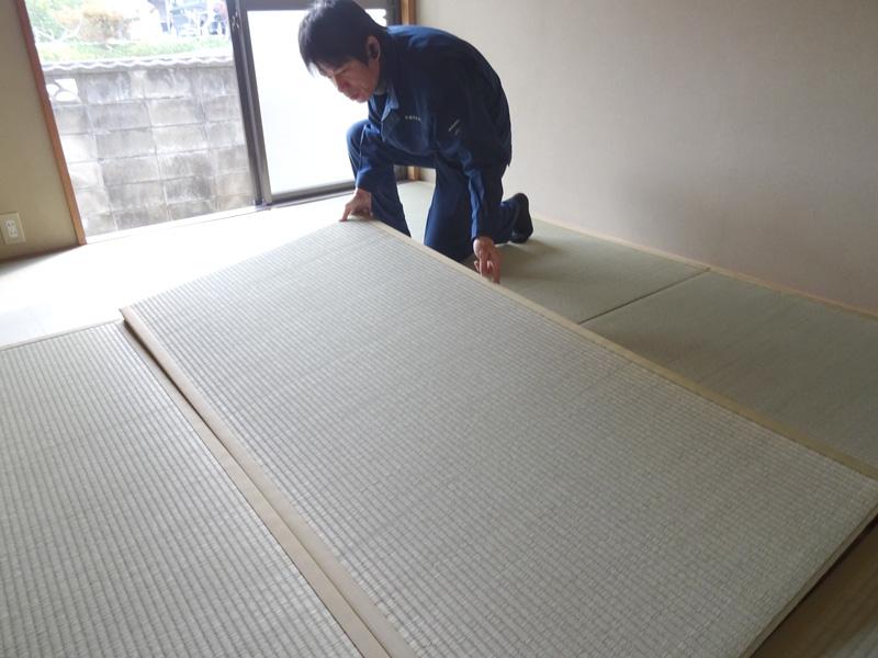 畳 表替え 奈良 中西たたみ店