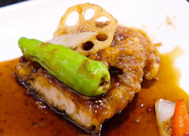 大阪ランチ酢豚