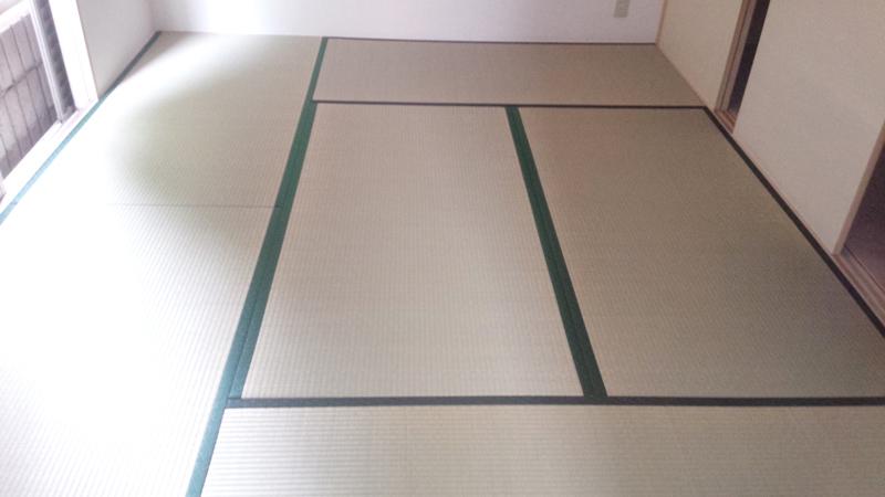 たたみ大和高田市北片塩畳替え工事 中西畳店