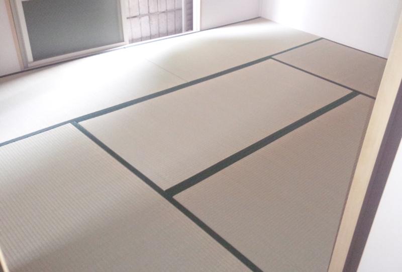 畳屋 大和高田市北片塩tatami替え工事 中西畳店