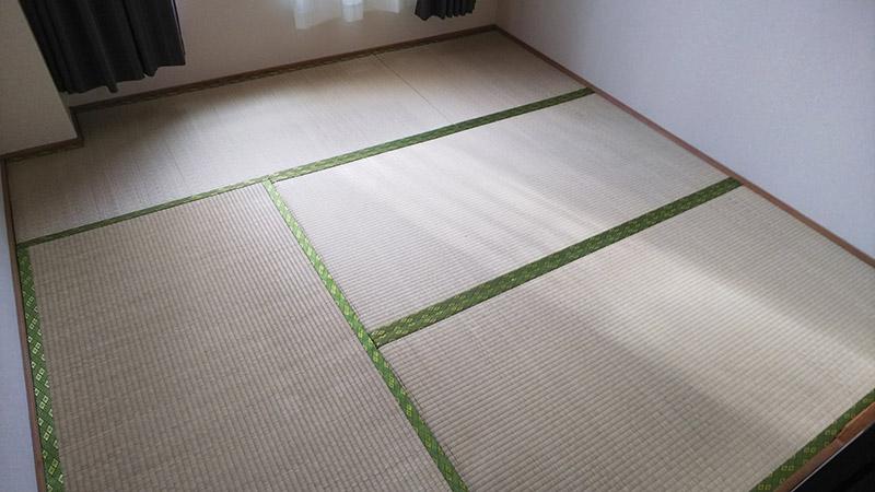 畳 奈良県奈良市たたみ工事ビフォーアフター