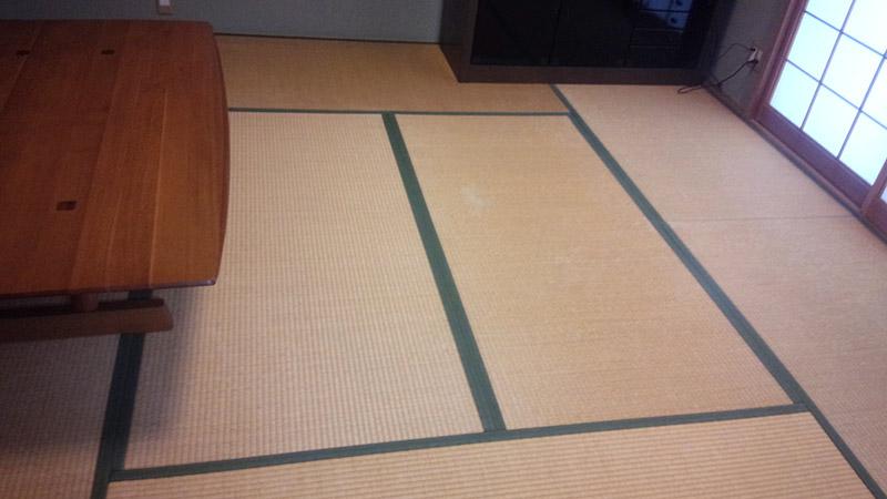 木津川 畳工事前の写真