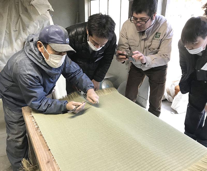 奈良畳屋の熊本研修