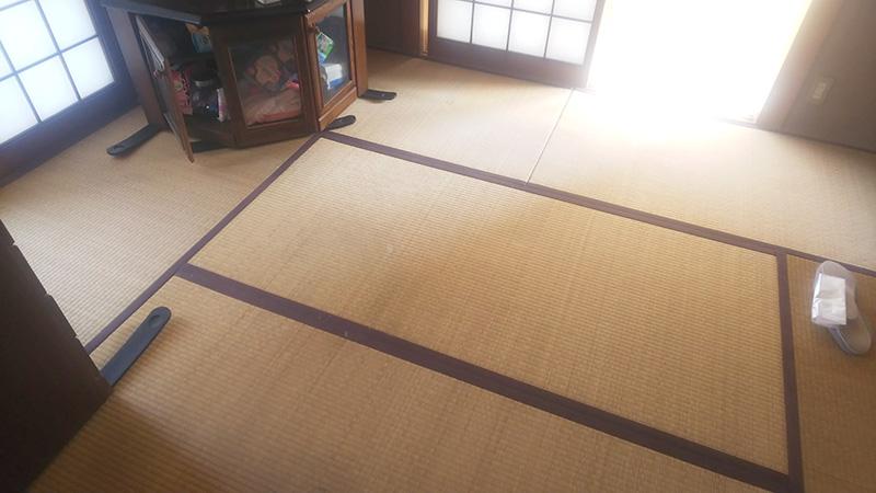 奈良大和郡山畳店工事前の写真
