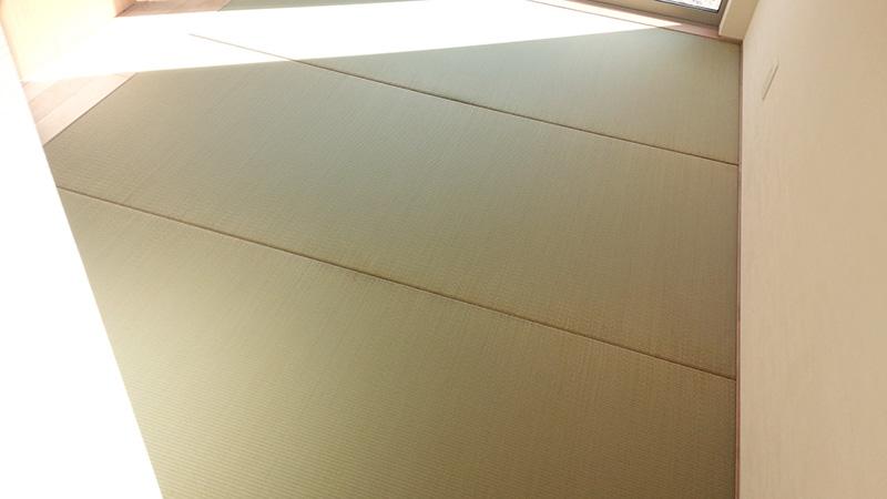 畳店奈良市横井縁なし新調工事