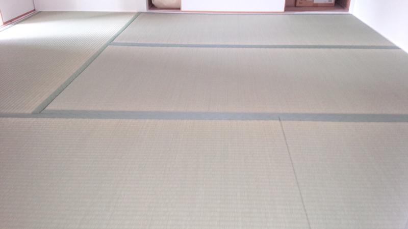 奈良市芝辻町 空き室畳表替え工事