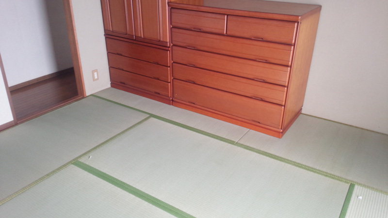 奈良市二名畳表替え工事