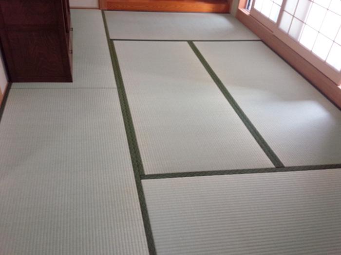 奈良市今御門町畳替え工事 中西たたみ店