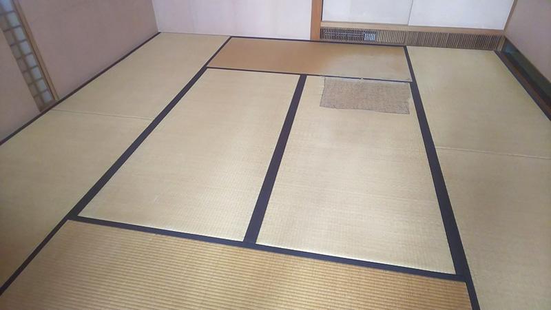奈良畳工事前の画像
