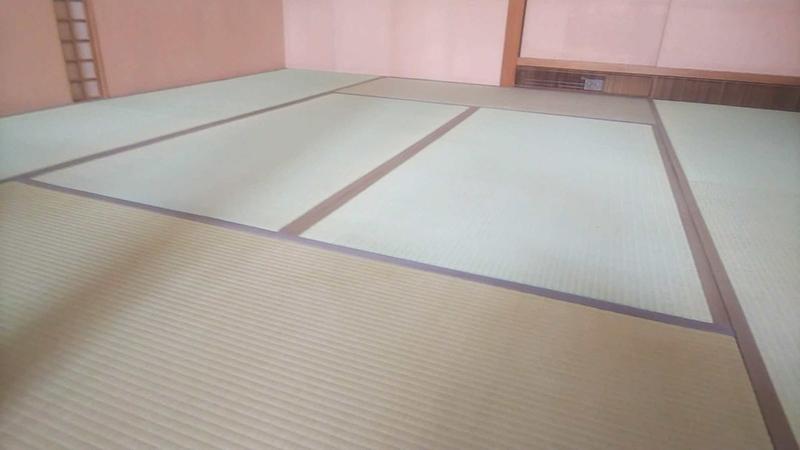 奈良市高畑町畳表替え工事 中西たたみ店