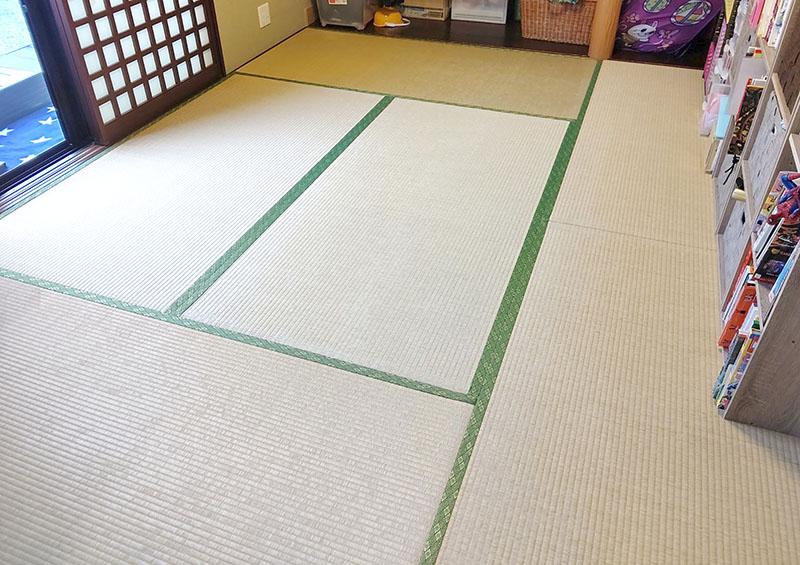 奈良市神殿町畳張り替え 中西たたみ店