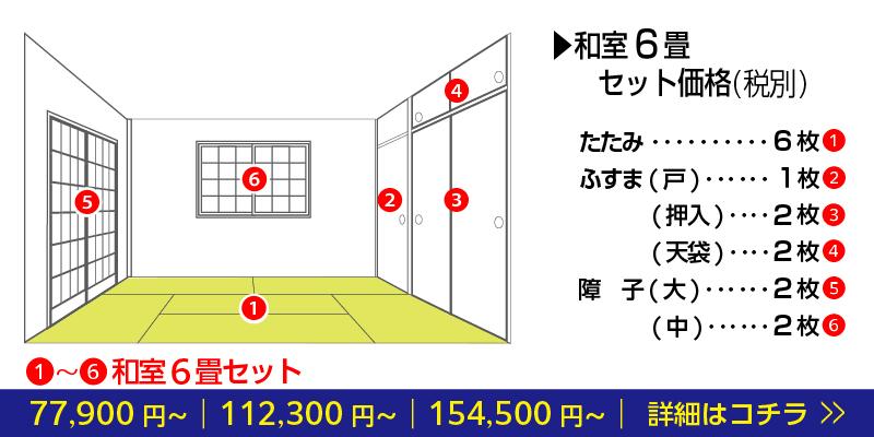 和室リフォーム奈良の畳店中西たたみ店