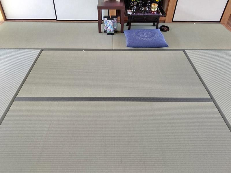 生駒市谷田町 畳張り替え施工事例 中西たたみ店