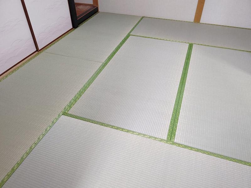 奈良市高畑たたみ換え工事