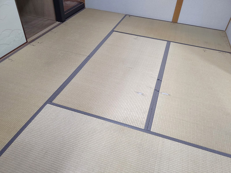 奈良市高畑畳工事前の写真