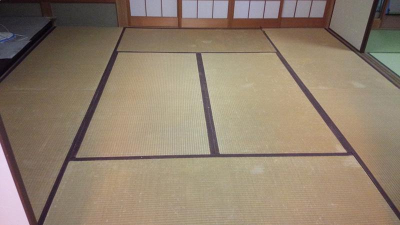 奈良市西登美ヶ丘畳替え工事前