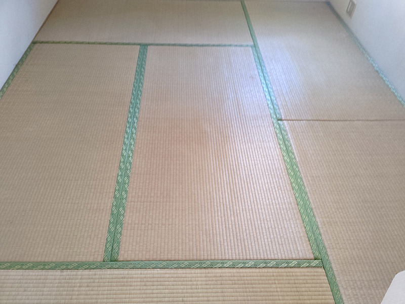 奈良市杏町畳表替え即日仕上げ工事前