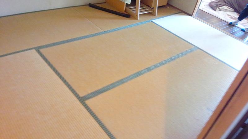 畳替え奈良市中登美ヶ丘