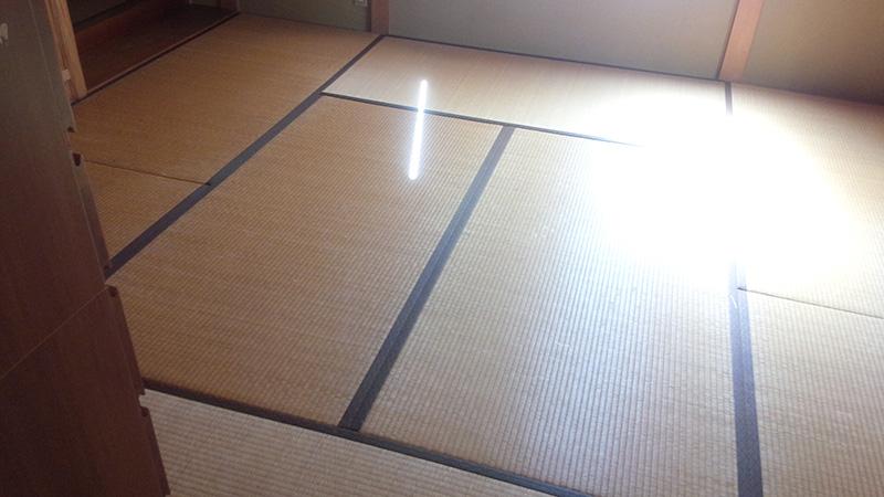 奈良市左京たたみ工事前