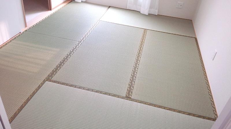 奈良市神殿町畳替え工事