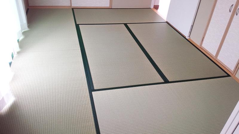 奈良市神殿町たたみ工事