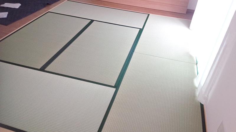 奈良畳新調工事の写真